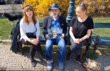 John Bok, Kristýna Boková a Jenovéfa Boková na podporu Romana Ševčíka